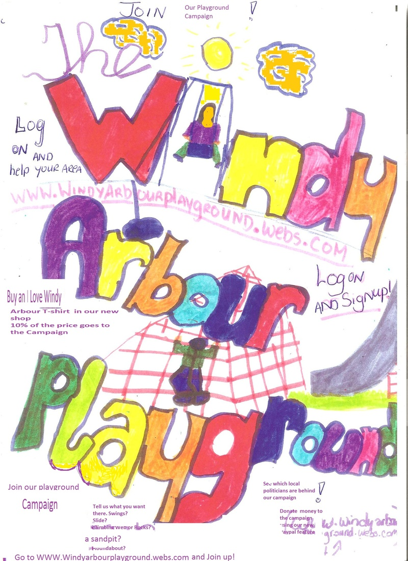 Windy Arbour Playground Poster